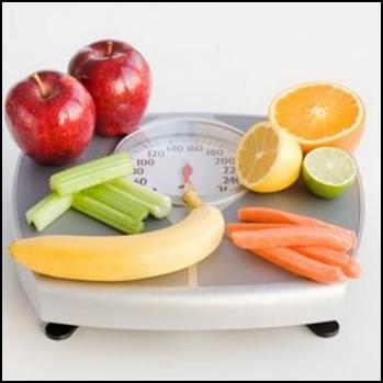 Dieta saudável e balanceada.