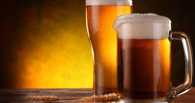 A cerveja atrapalha na dieta.
