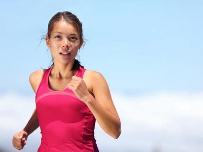 A corrida ajuda perder a barriga e secar.
