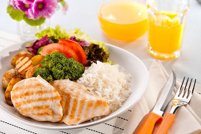 Dieta low carb prato