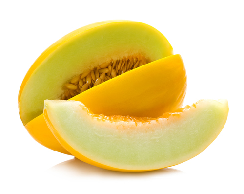 A fruta do melão
