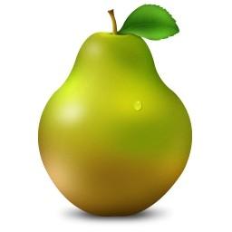 A pera é uma das frutas de menor valor calórico.