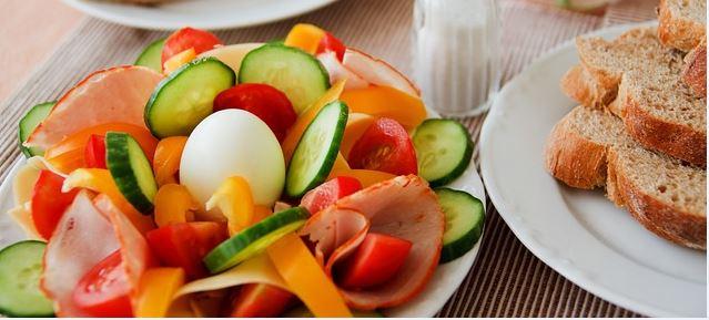 Salada para secar 7 quilos em uma semana.