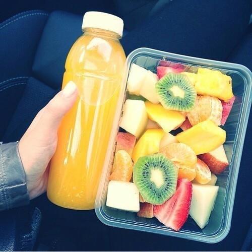Sucos para manter uma alimentação saudável