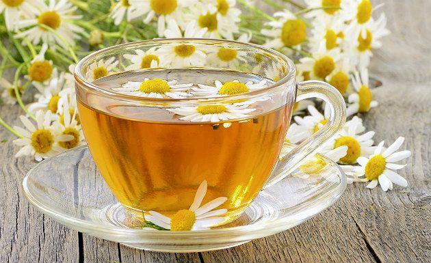 O chá de camomila trás muitos benefícios a saúde!