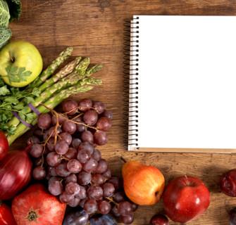 A nova dieta com tabela dos pontos.