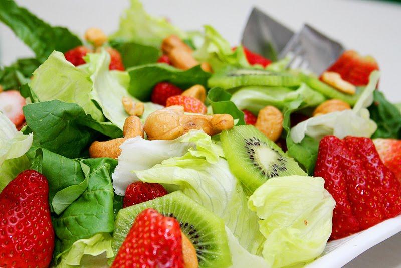 Muita salada na dieta da usp.