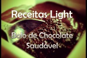 Receita de bolo de chocolate light receitas saudáveis.
